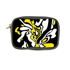 Yellow, black and white decor Coin Purse