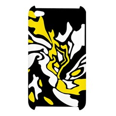 Yellow, black and white decor Apple iPod Touch 4