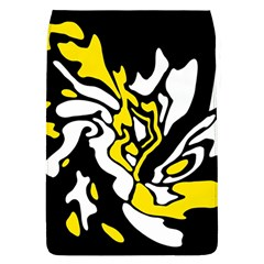Yellow, black and white decor Flap Covers (L)