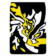 Yellow, black and white decor Flap Covers (S)