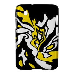 Yellow, black and white decor Samsung Galaxy Tab 2 (7 ) P3100 Hardshell Case