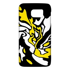 Yellow, black and white decor Galaxy S6