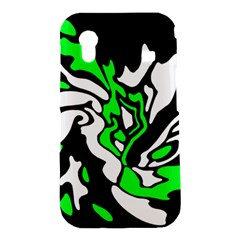 Green, white and black decor Samsung Galaxy Ace S5830 Hardshell Case