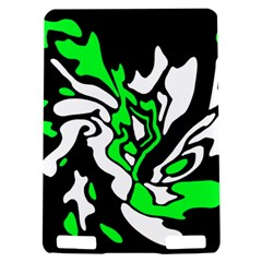 Green, white and black decor Kindle Touch 3G