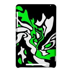 Green, white and black decor Nexus 7 (2012)