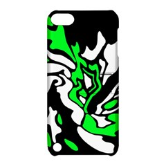 Green, white and black decor Apple iPod Touch 5 Hardshell Case with Stand