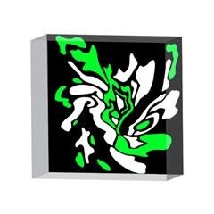 Green, white and black decor 4 x 4  Acrylic Photo Blocks