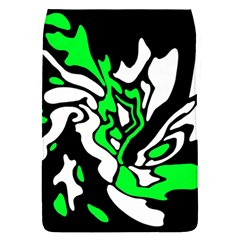 Green, white and black decor Flap Covers (S)