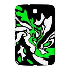 Green, white and black decor Samsung Galaxy Note 8.0 N5100 Hardshell Case
