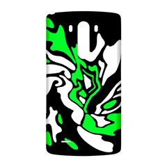 Green, white and black decor LG G3 Back Case
