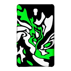 Green, white and black decor Samsung Galaxy Tab S (8.4 ) Hardshell Case