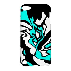 Cyan, black and white decor Apple iPod Touch 5 Hardshell Case