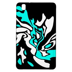 Cyan, black and white decor Samsung Galaxy Tab Pro 8.4 Hardshell Case