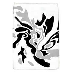Gray, black and white decor Flap Covers (L)