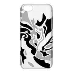 Gray, black and white decor Apple iPhone 5C Hardshell Case