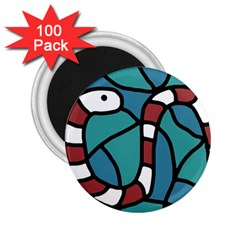 Red snake 2.25  Magnets (100 pack)
