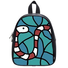 Red snake School Bags (Small)