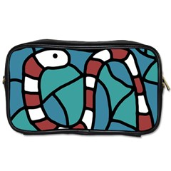 Red snake Toiletries Bags