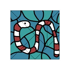 Red snake Acrylic Tangram Puzzle (4  x 4 )