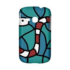 Red snake Samsung Galaxy S6310 Hardshell Case
