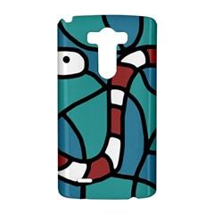 Red snake LG G3 Hardshell Case