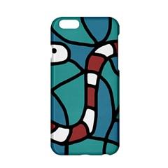 Red snake Apple iPhone 6/6S Hardshell Case