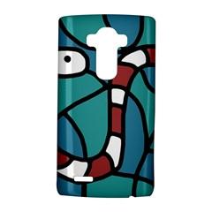 Red snake LG G4 Hardshell Case