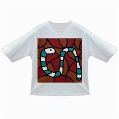Blue snake Infant/Toddler T-Shirts
