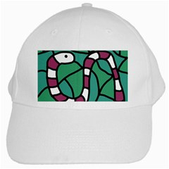 Purple snake  White Cap