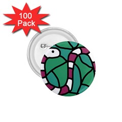 Purple snake  1.75  Buttons (100 pack)