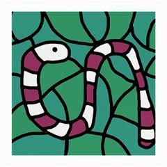 Purple snake  Medium Glasses Cloth (2-Side)