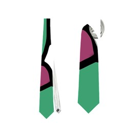 Purple snake  Neckties (One Side)