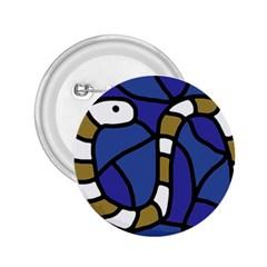 Green snake 2.25  Buttons