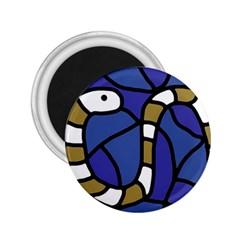 Green snake 2.25  Magnets