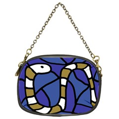 Green snake Chain Purses (Two Sides)