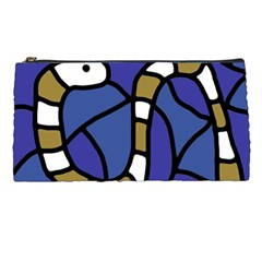 Green snake Pencil Cases