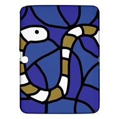 Green snake Samsung Galaxy Tab 3 (10.1 ) P5200 Hardshell Case