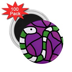 Green snake 2.25  Magnets (100 pack)