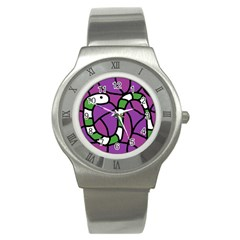 Green snake Stainless Steel Watch