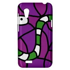 Green snake HTC Desire VT (T328T) Hardshell Case