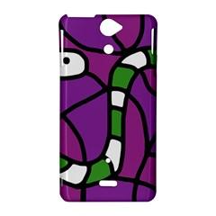 Green snake Sony Xperia V