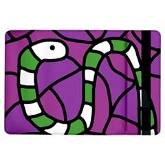 Green snake iPad Air Flip