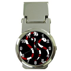 Red snakes Money Clip Watches