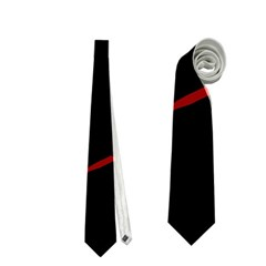 Red snakes Neckties (One Side)