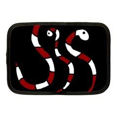 Red snakes Netbook Case (Medium)