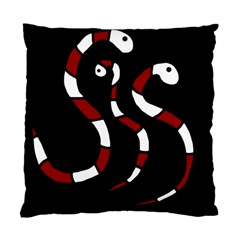 Red snakes Standard Cushion Case (One Side)