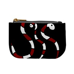 Red snakes Mini Coin Purses