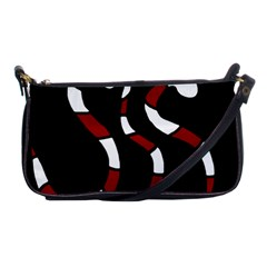 Red snakes Shoulder Clutch Bags