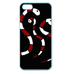 Red snakes Apple Seamless iPhone 5 Case (Color)