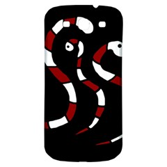 Red snakes Samsung Galaxy S3 S III Classic Hardshell Back Case